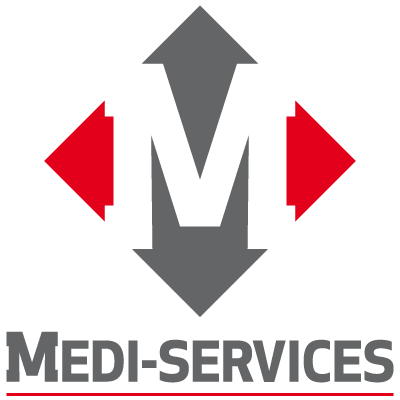 Logo medi services vertical